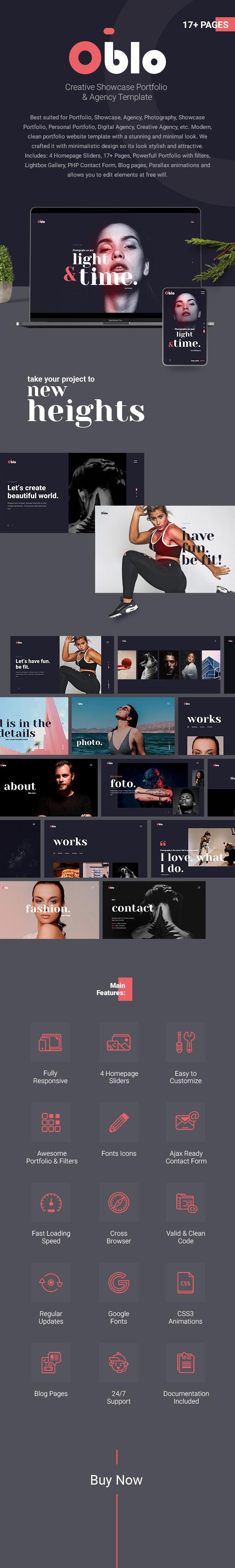 Creative Showcase Portfolio & Agency Template