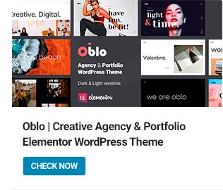 Oblo WordPress Theme