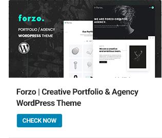 Forzo WordPress Theme